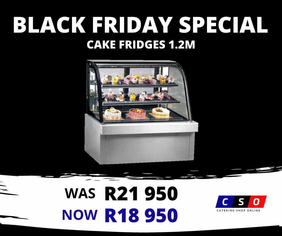 Cake Fridge Black Friday Special