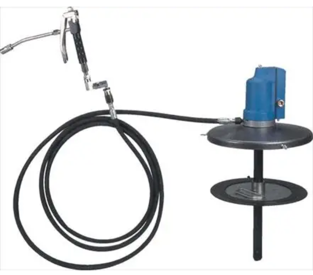 GROZ GREASE PUMP AIR  Operated 20KG. Model GRP/501/03. With trolley wheel base.