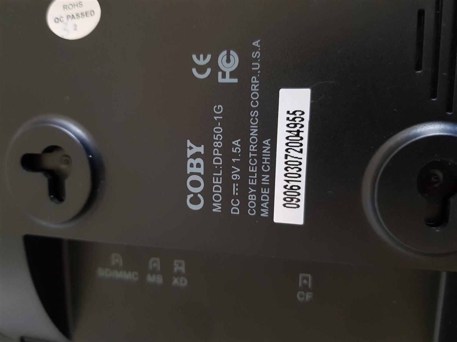 8 inch coby digital photo frame
