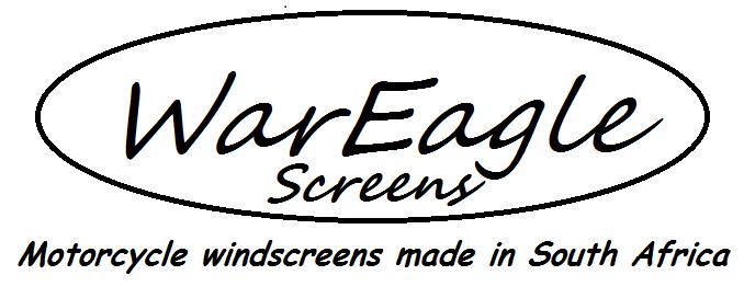 War Eagle Racing Motorcycle Screens and Fairings Kymco Xciting 500i dark tint Screen.
