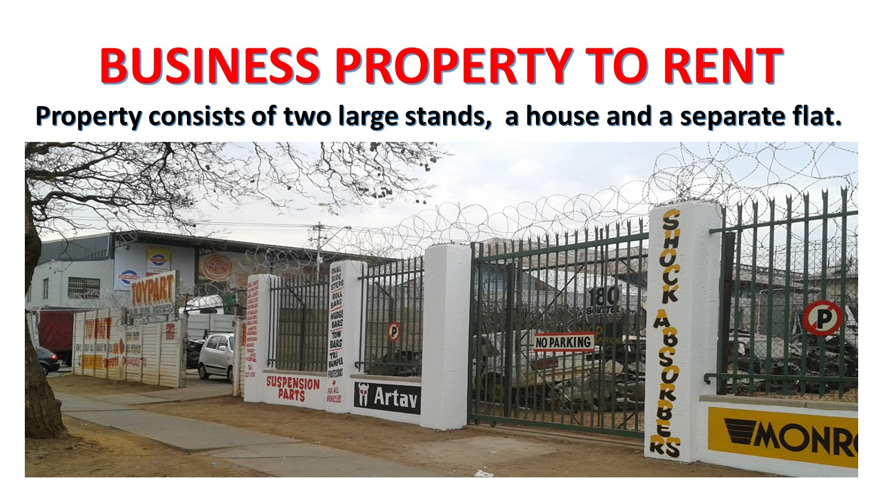BUSINESS PROPERTY TO RENT