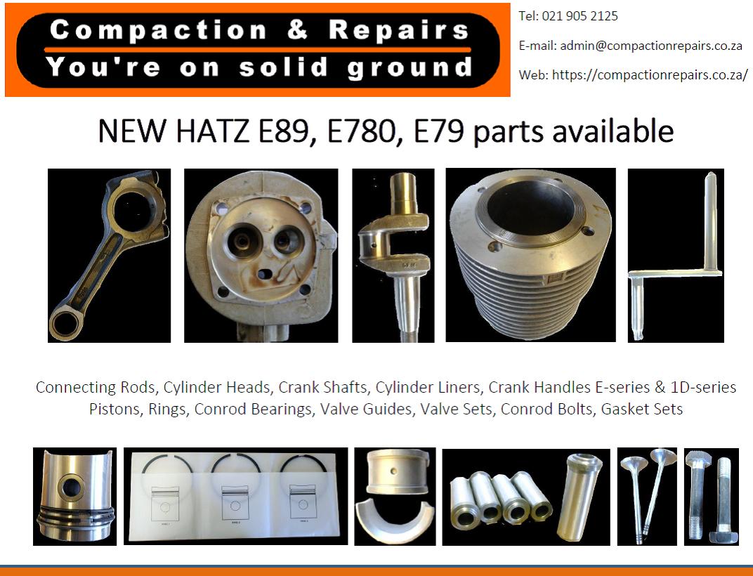HATZ E89 engine parts