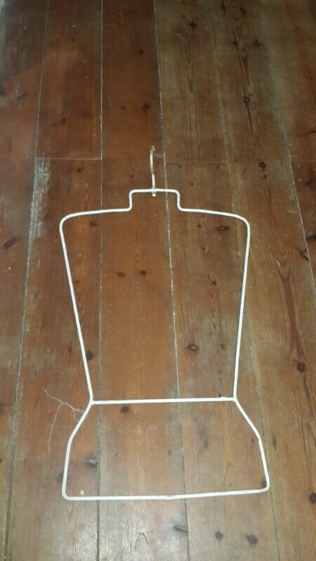 HIS & HERS  Metal Hanger full sized jacket or top hanging hangers HIS & HERS