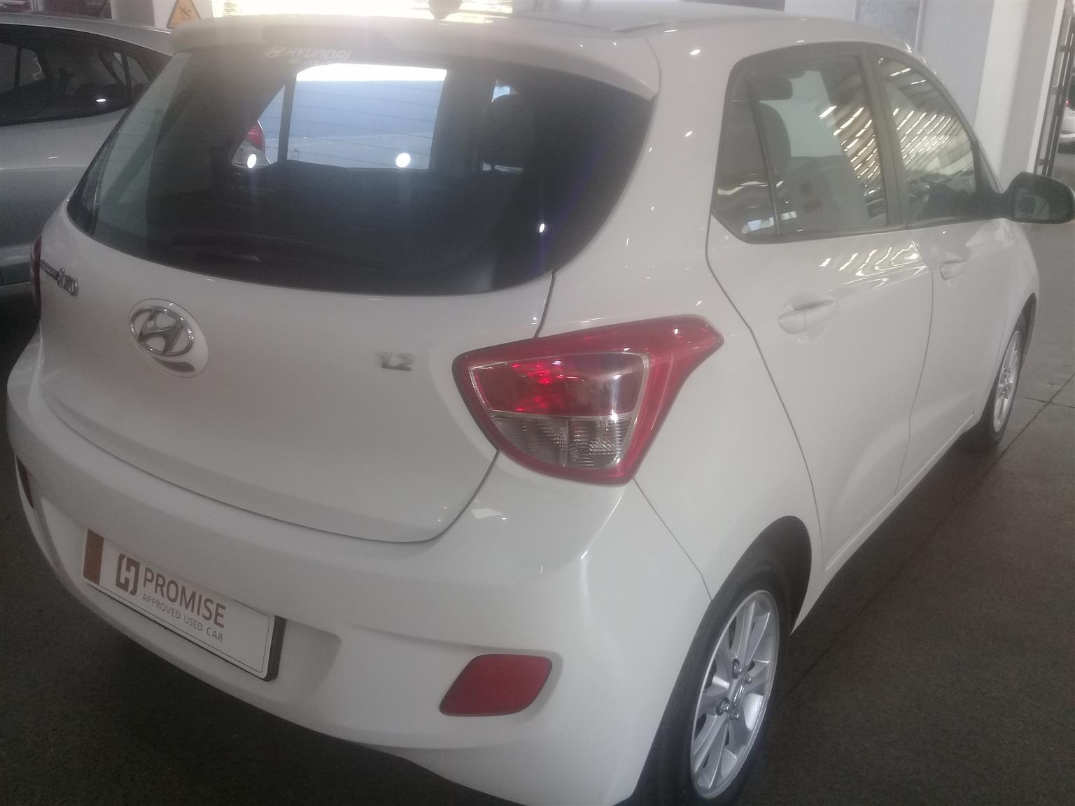 2017 Hyundai i10 1.25 Fluid