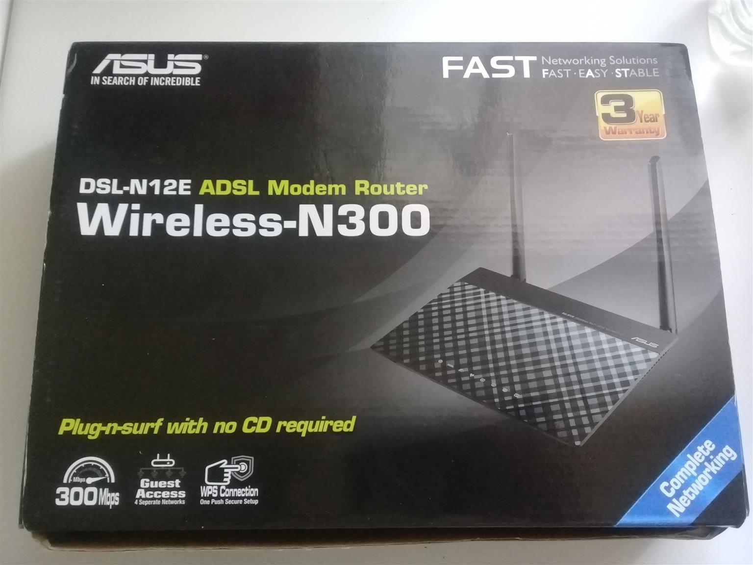 Asus Wireless-N300 modem