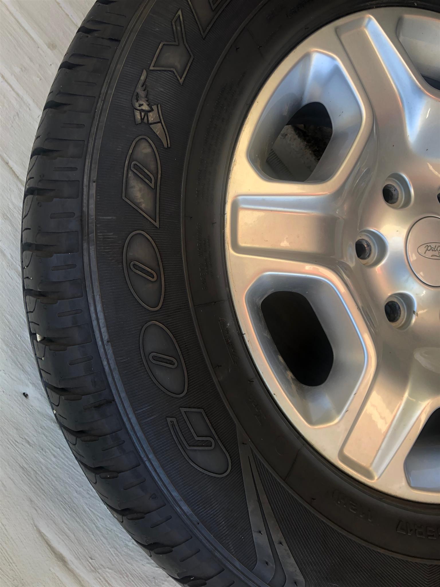 Wheels X 4, Good Year Wrangler