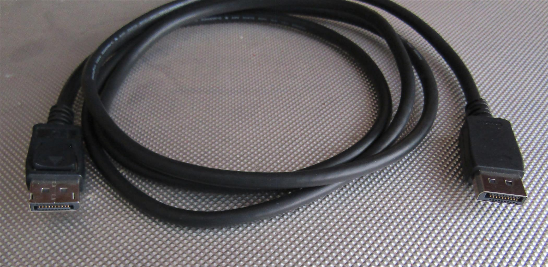 Display Port Cable - 1.8M