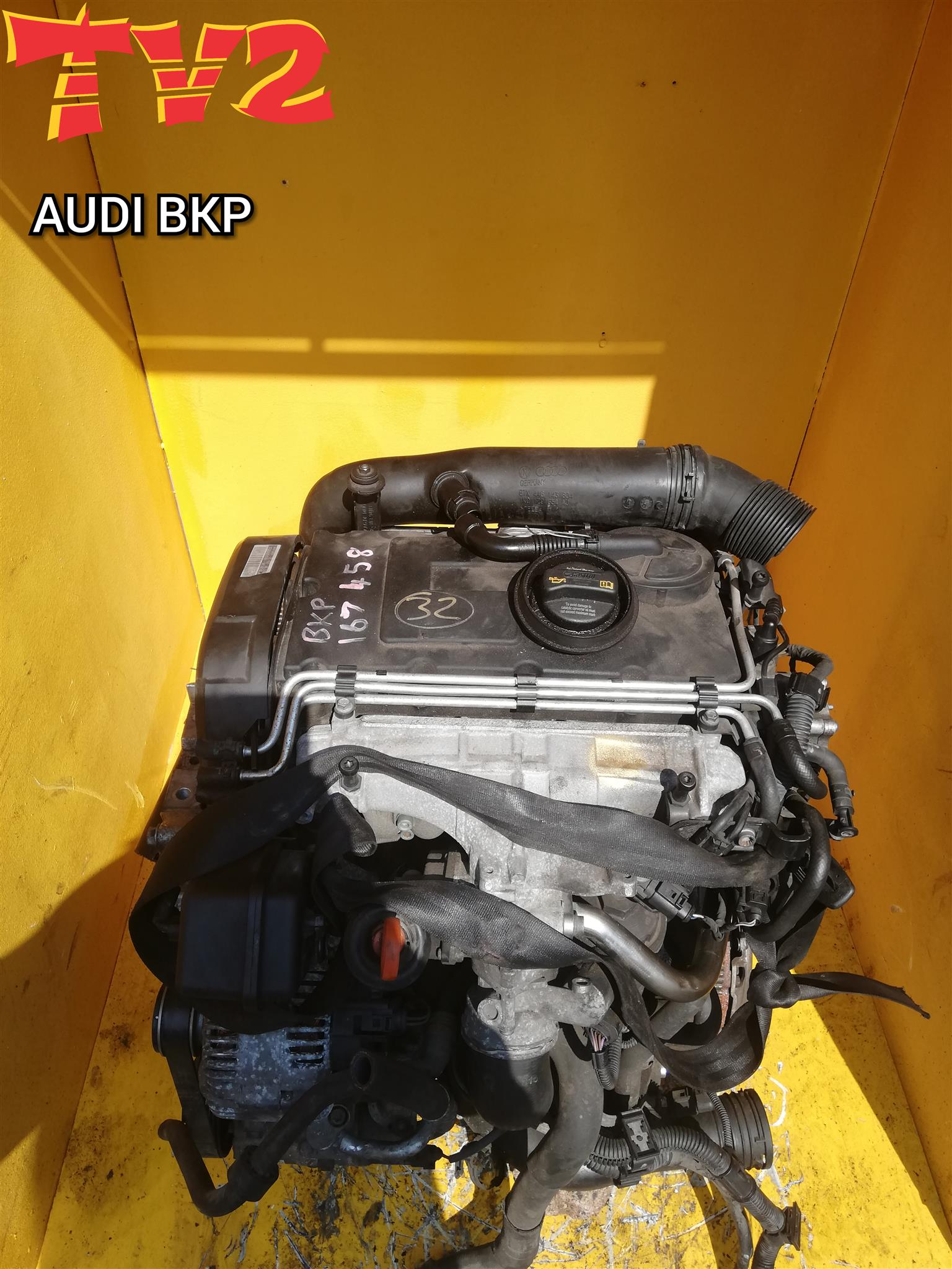 AUDI- BKP ENGINE FOR SALE