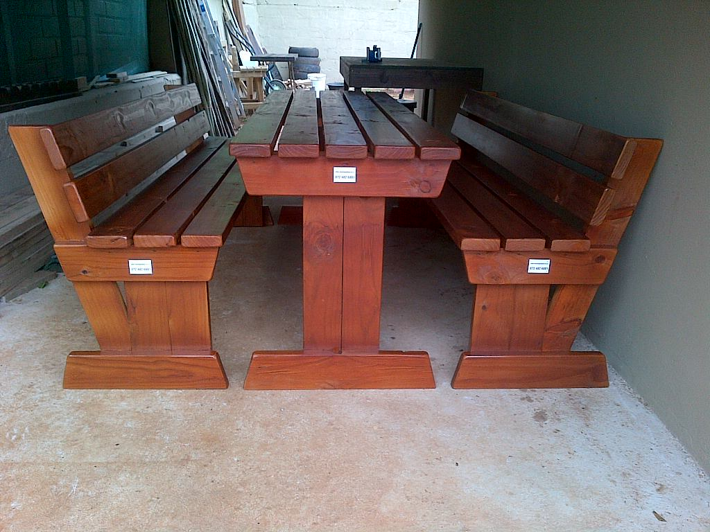 Patio furniture and Picnic benches
