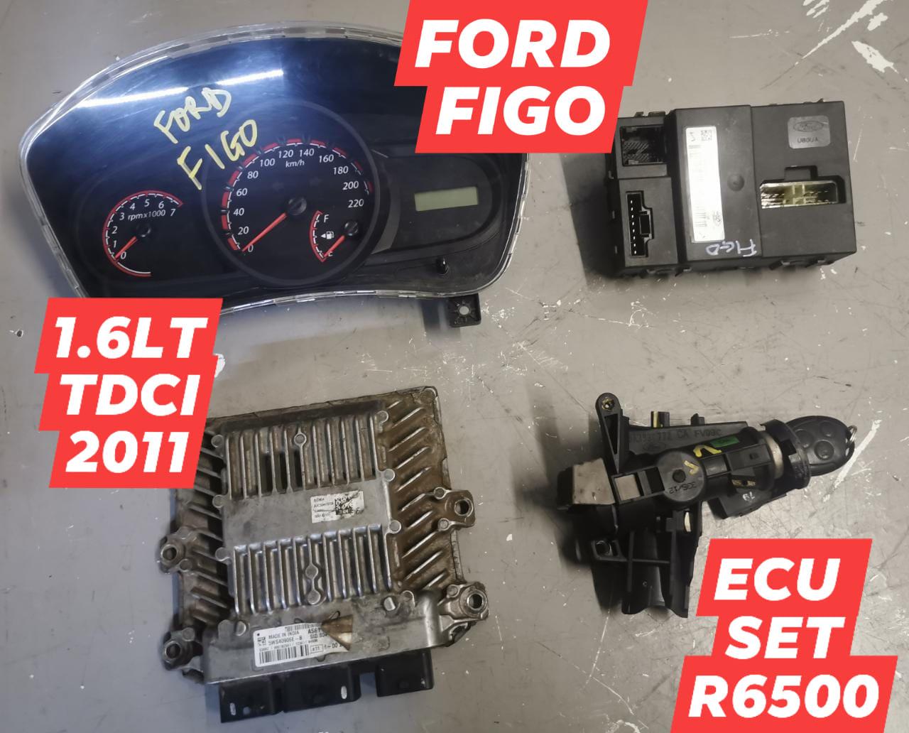 FORD FIGO 1.6LT TDCI 2011 ECU SET