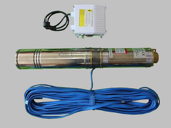 Borehole/Dompel Pomp 0.75kw with cable and control box price vat included