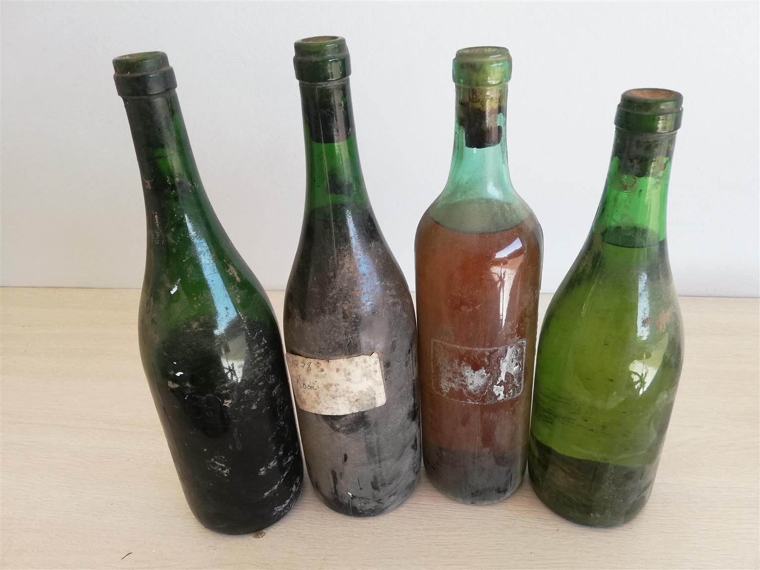 4 Bottles Vintage Wine 1978