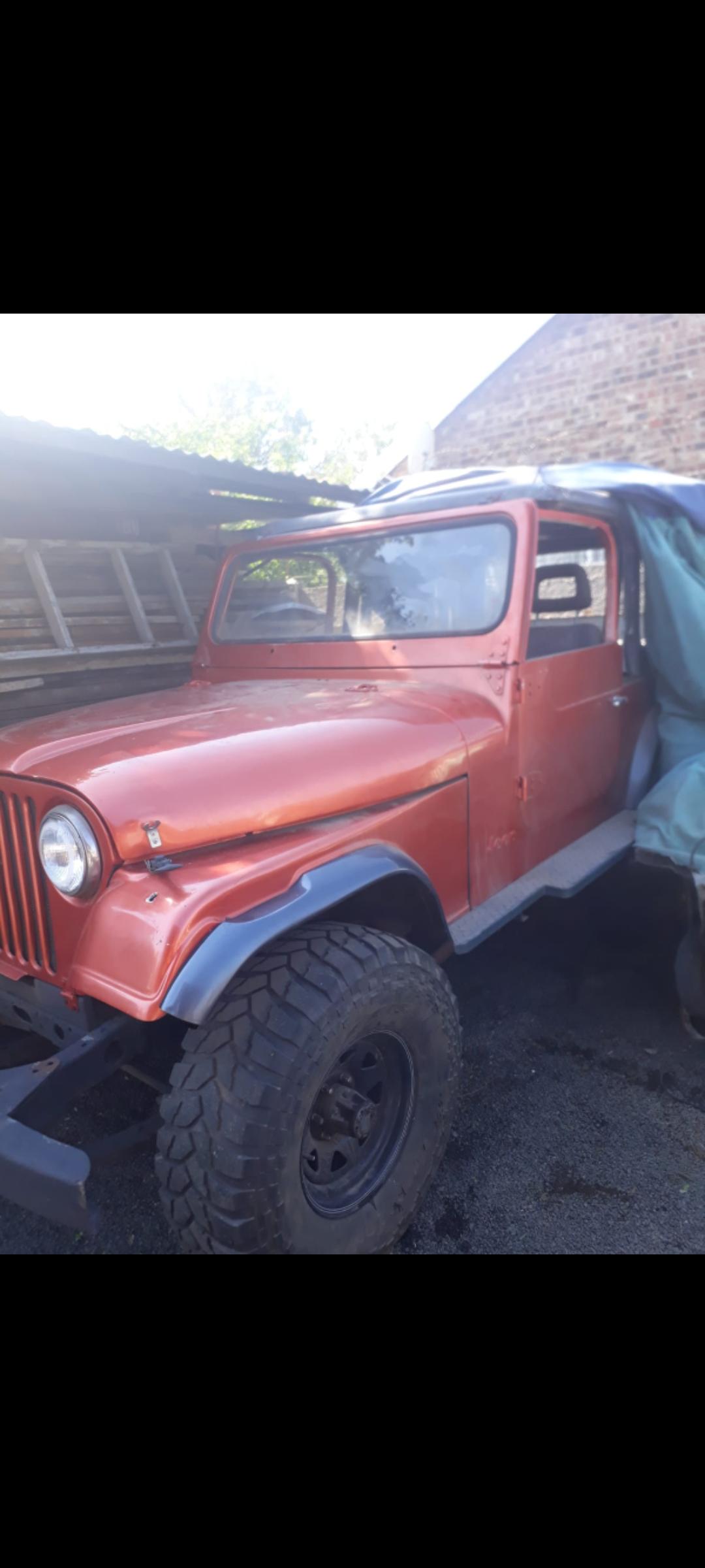 Cj7 Willys Jeep