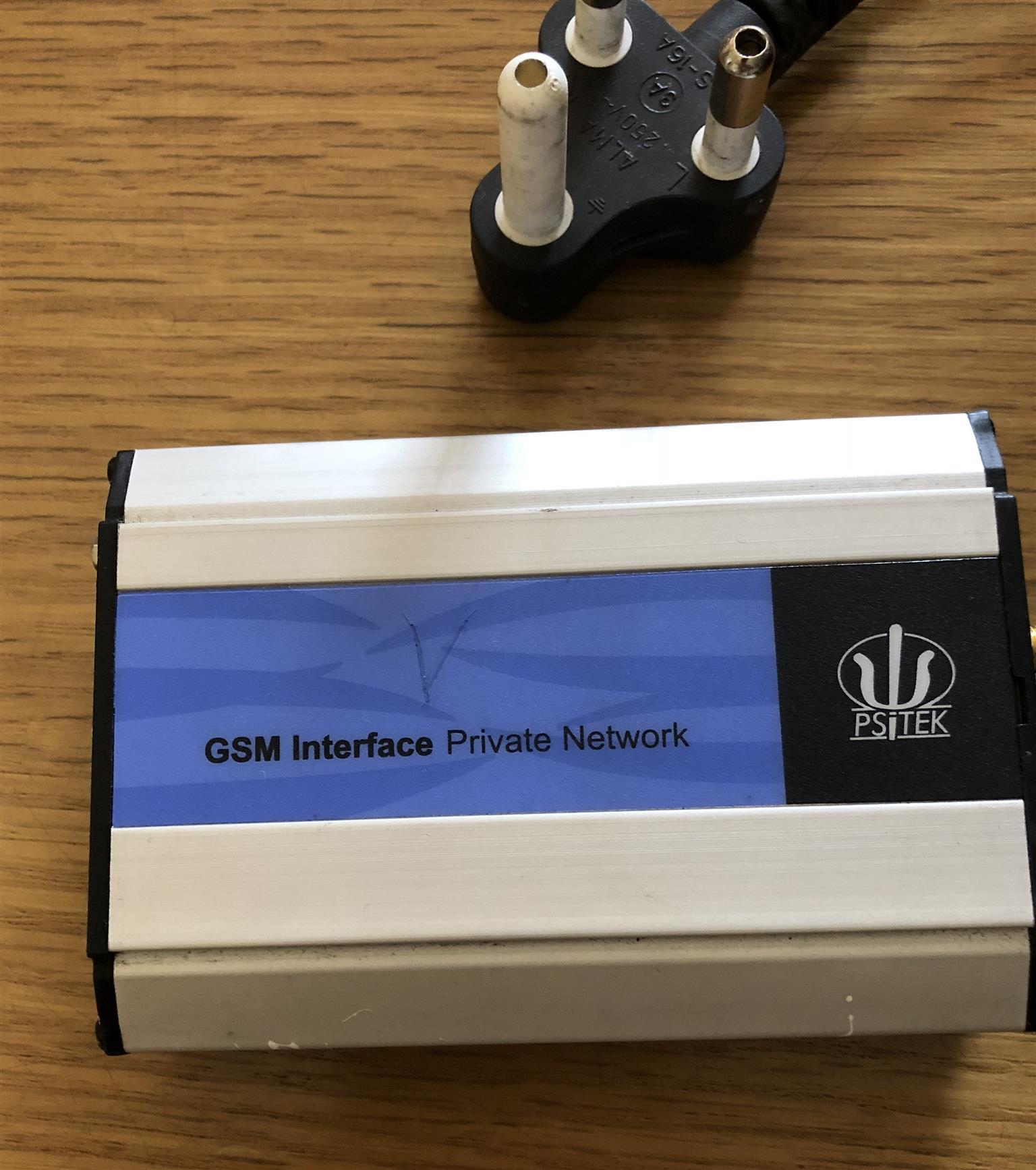 Psitek GSM Interface Private Network