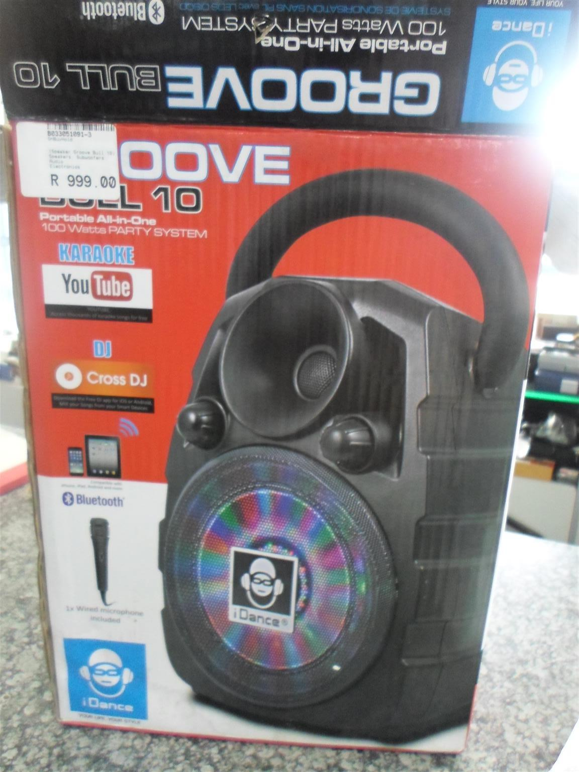 Groove Bull 10 Speaker + Microphone