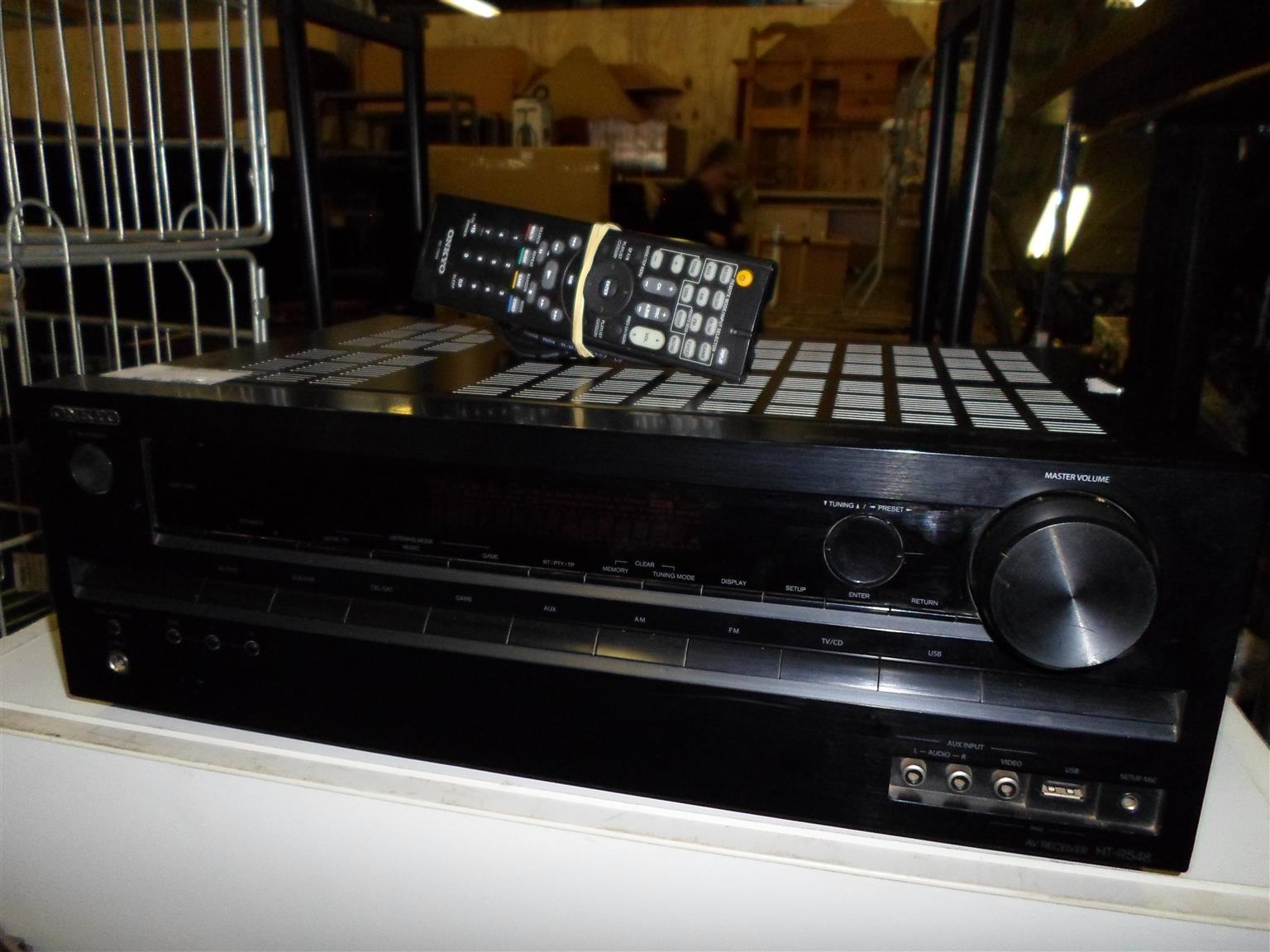 5.1 Channel Onkyo Amplifier - C033031433-1