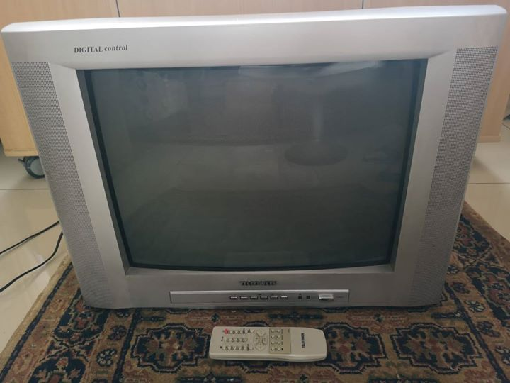 Telefunken TV with a remote