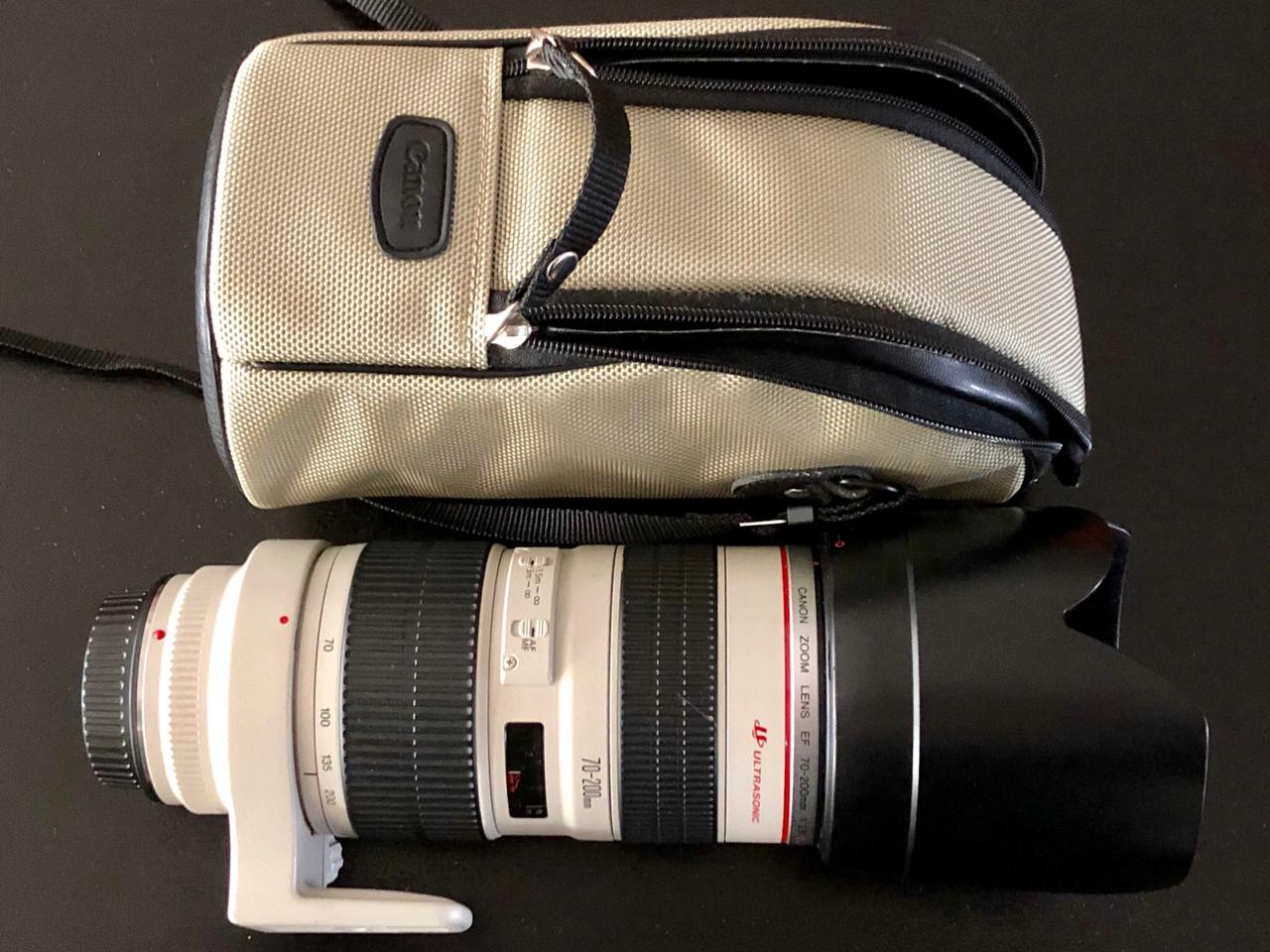 Canon EF 70-200, 1:2.8 L