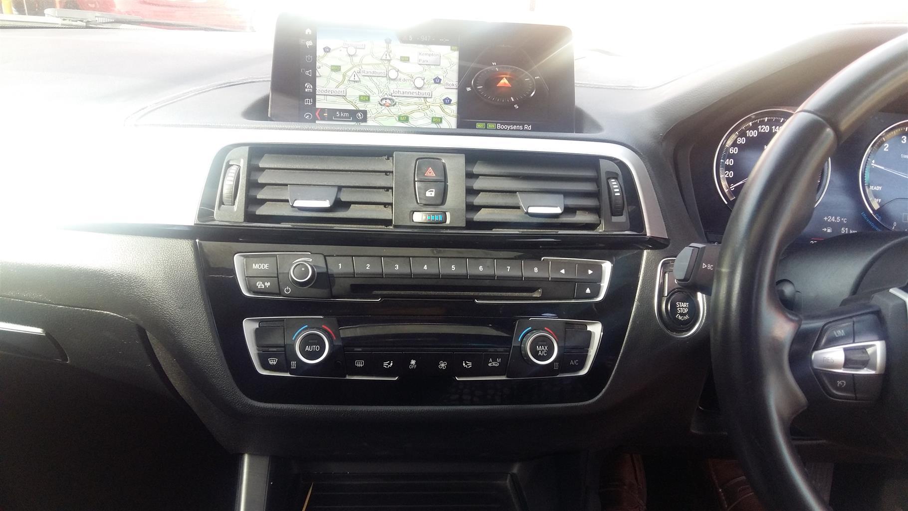 2018 BMW 1 Series 120i 5 door auto