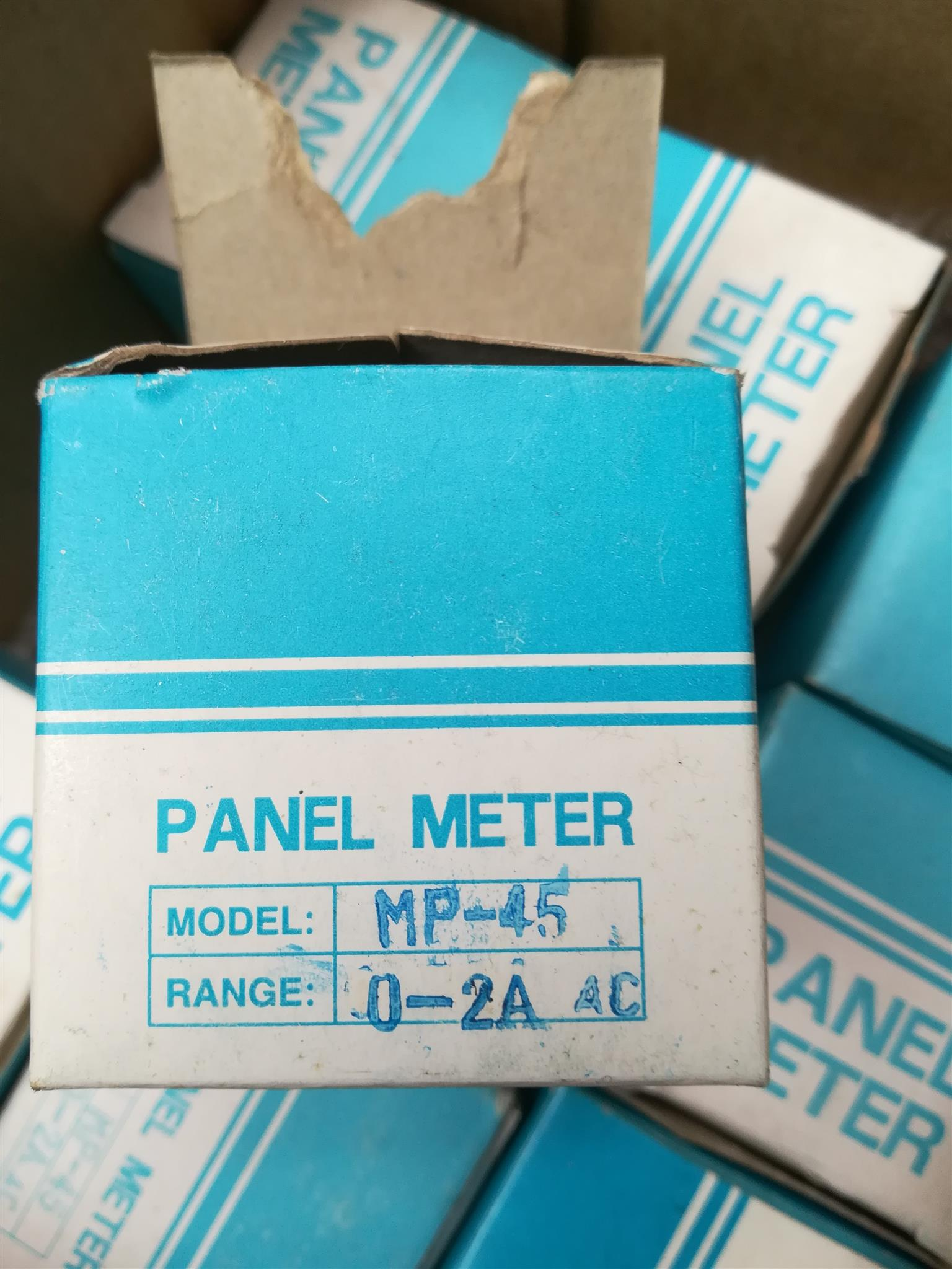 2A AC panel mount meters