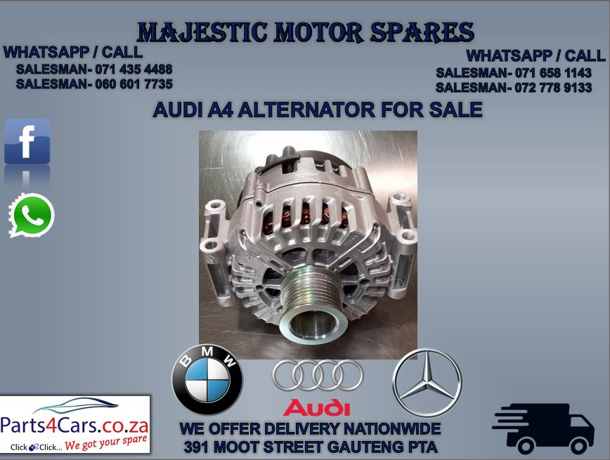 Audi A4 alternator for sale