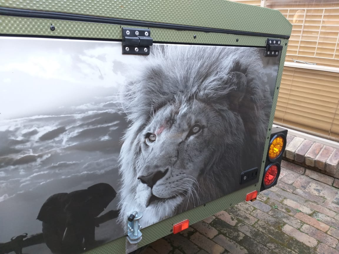 Camping/Hunting trailer