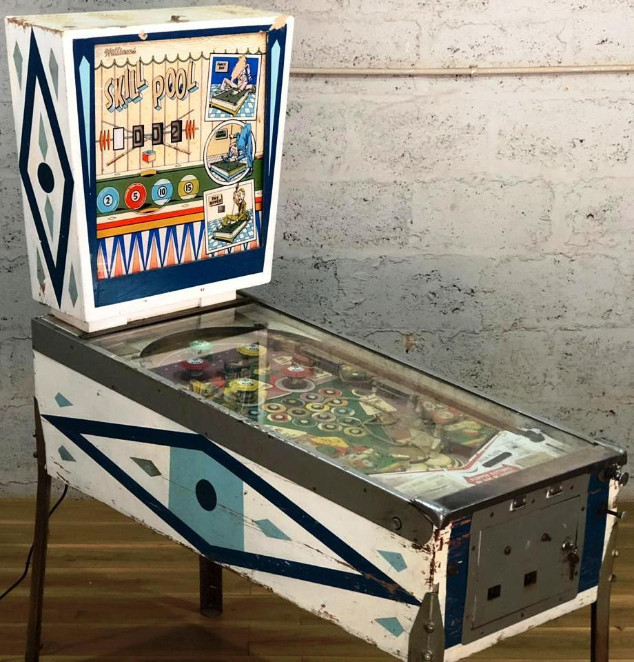 1963 Williams Skill Pool Pinball Machine | Junk Mail