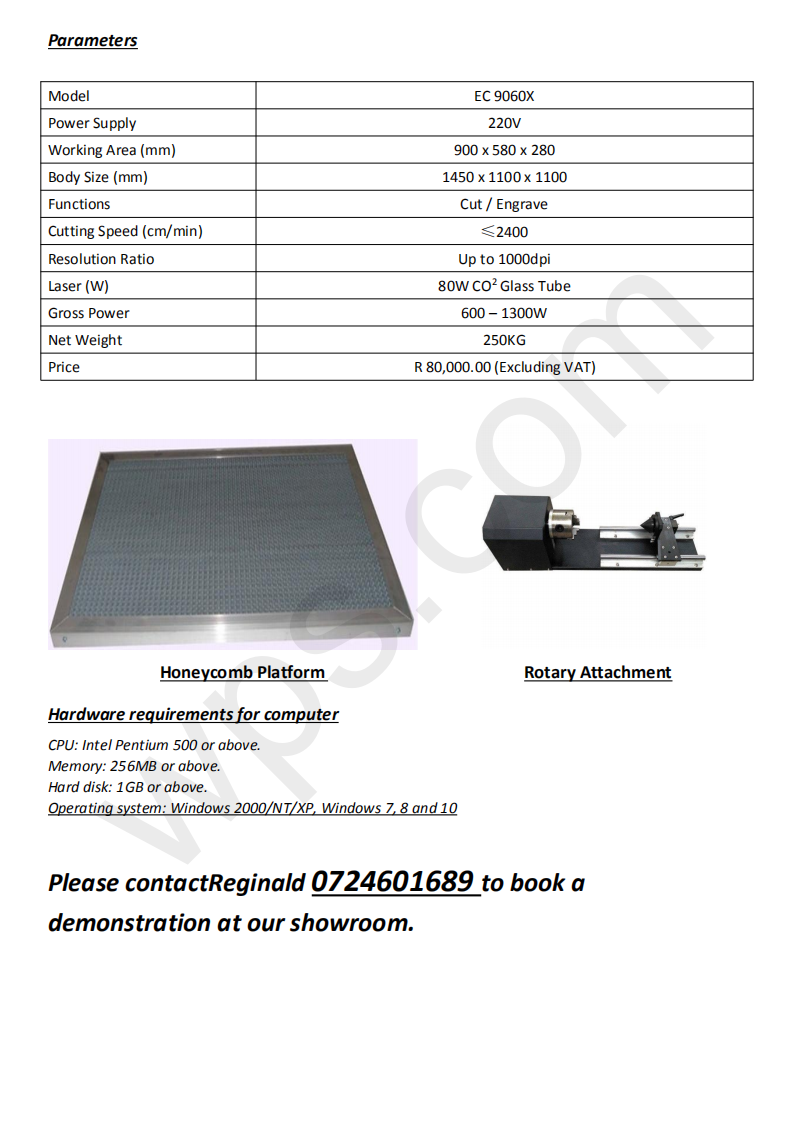 Lasercut Machine 9060X