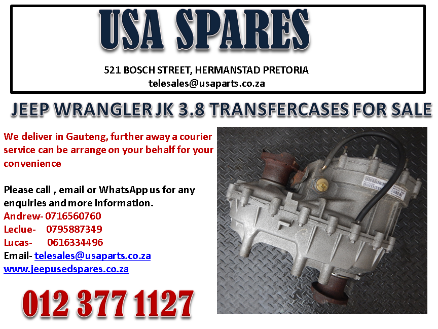 JEEP WRANGLER JK 3.8 TRANSFER CASE FOR SALE