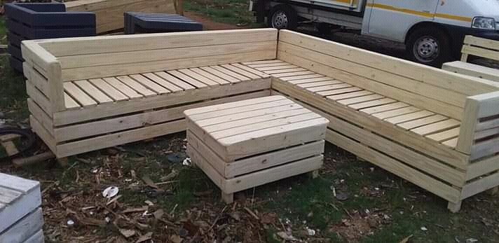 Wooden and pallet furniture