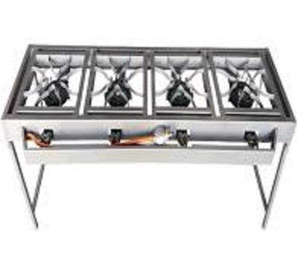 4 Burner Boiling Table