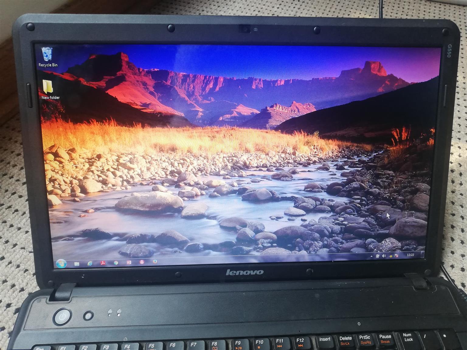 Lenovo laptop for sale