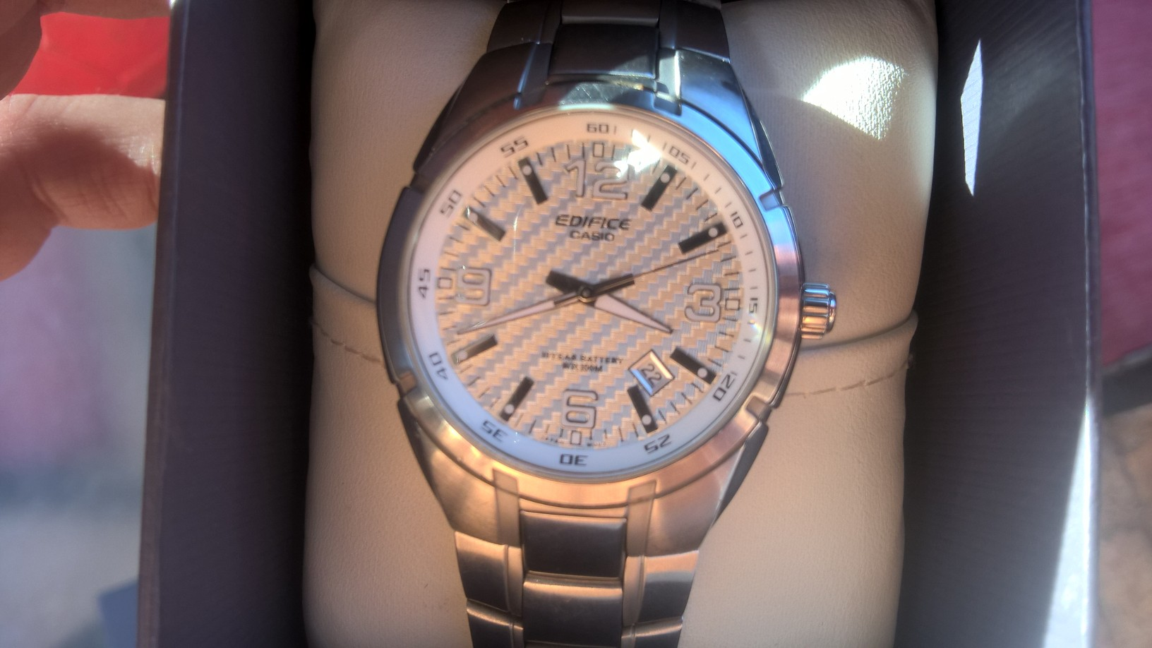 Casio Ediface watch