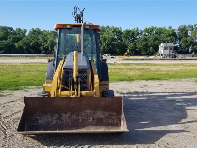 TLB  2004 John Deere 310G 4x4 Tractor Loader TLB's Even For Agricultural Use