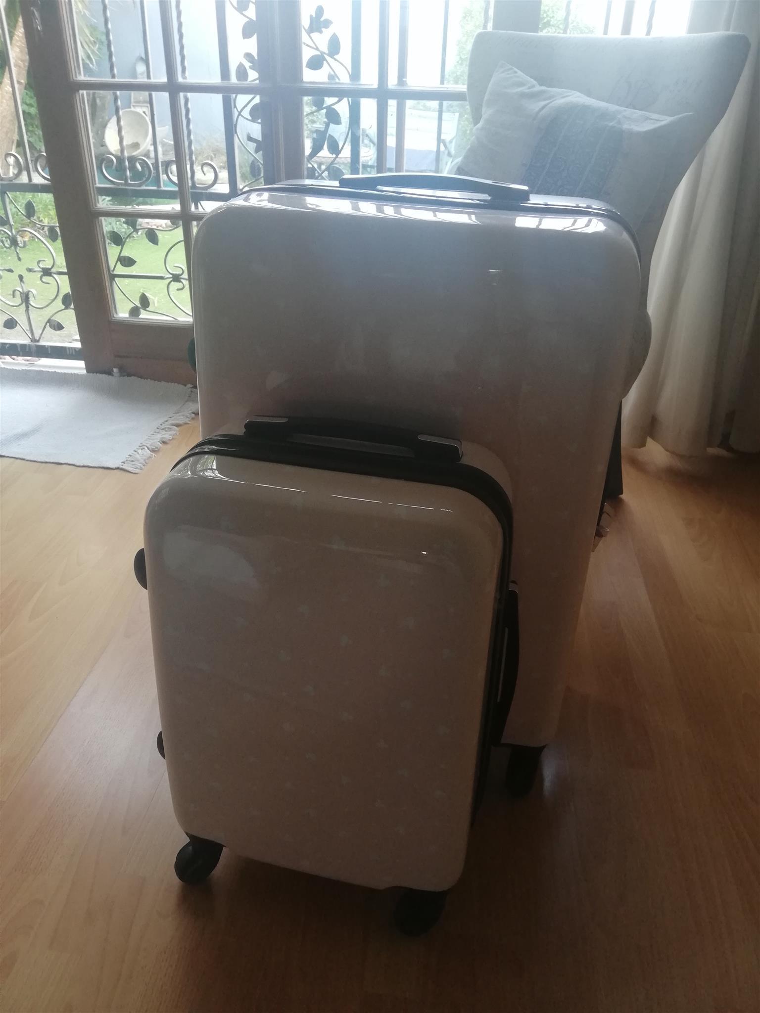 Set of 2 Typo luggage bags