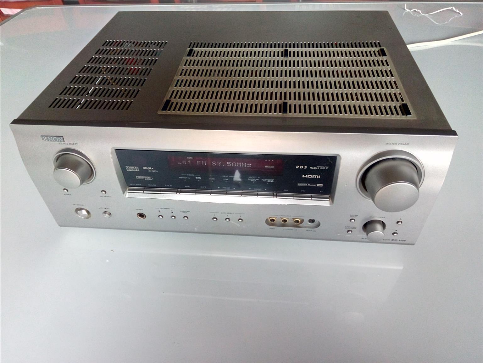 Denon Surround Receiver AVR-1508