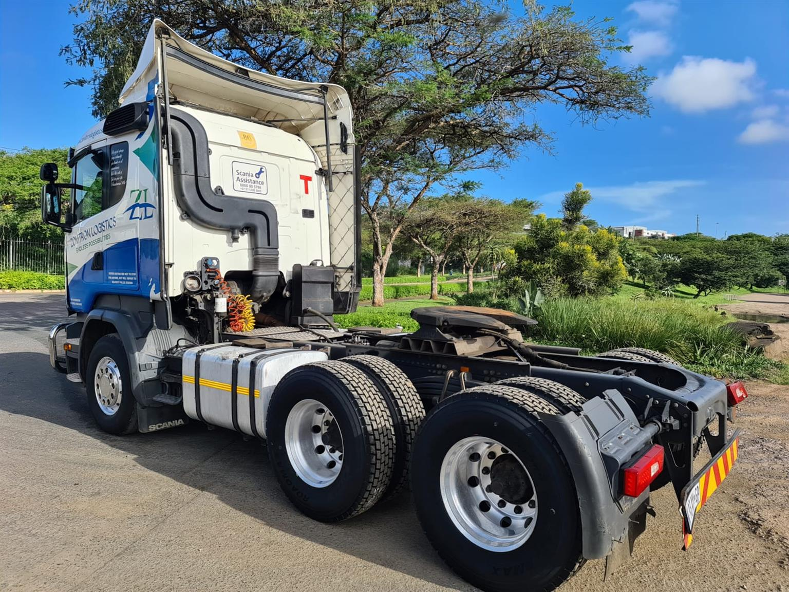 2014 SCANIA R460 T/T WITH HYDRAULICS