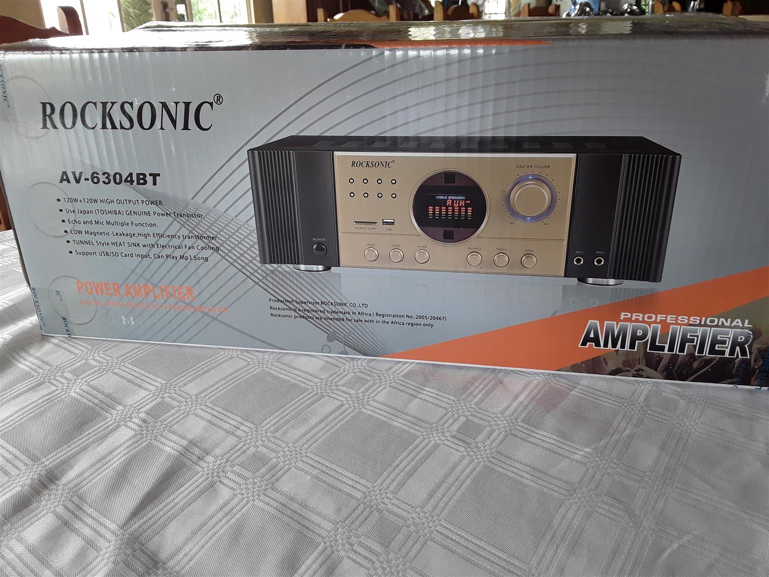 Rocksonic Stereo Amplifier