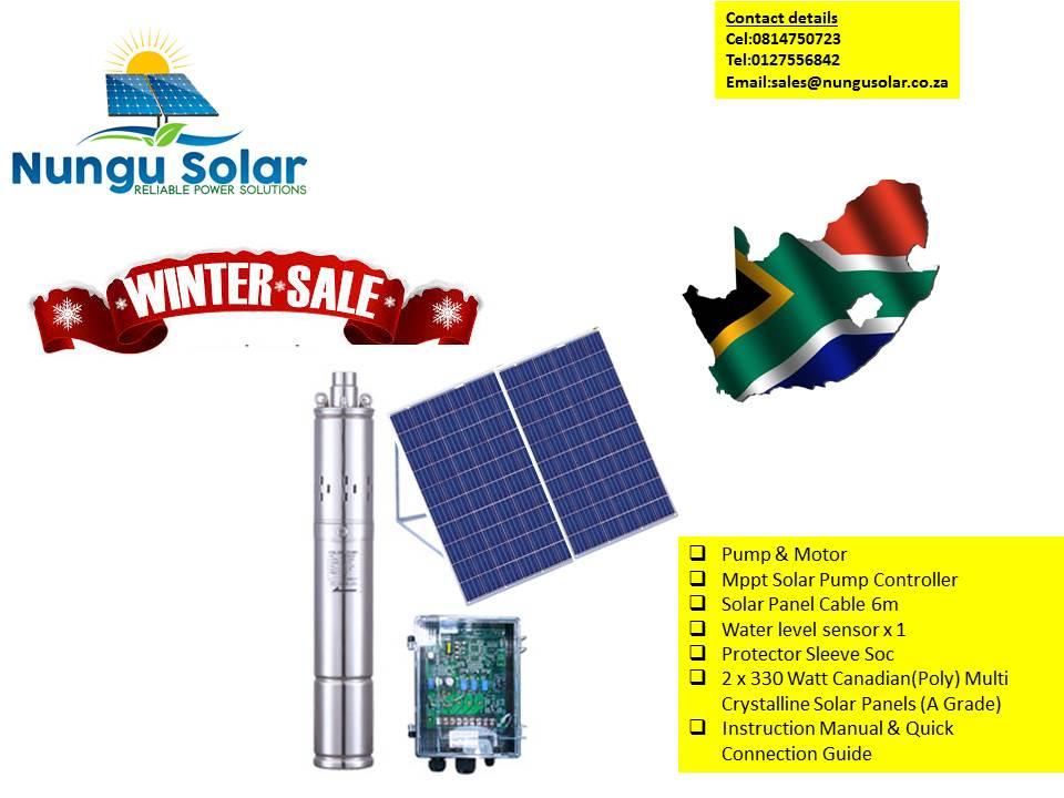 Solar Borehole Pump Full Kit