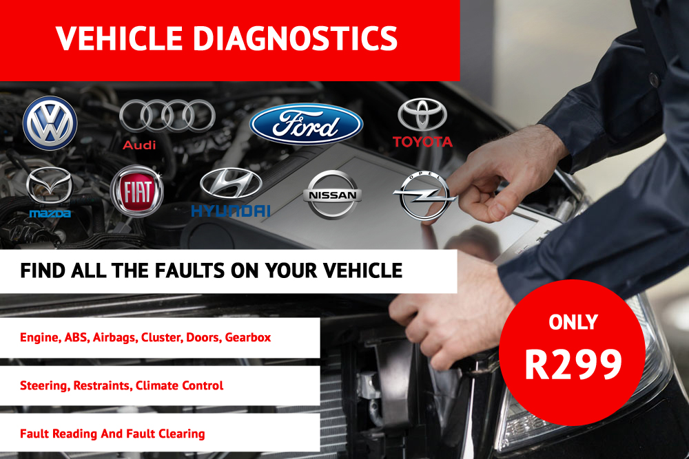 Vehicle Diagnostics | Find All Faults On Your Vehicle R299