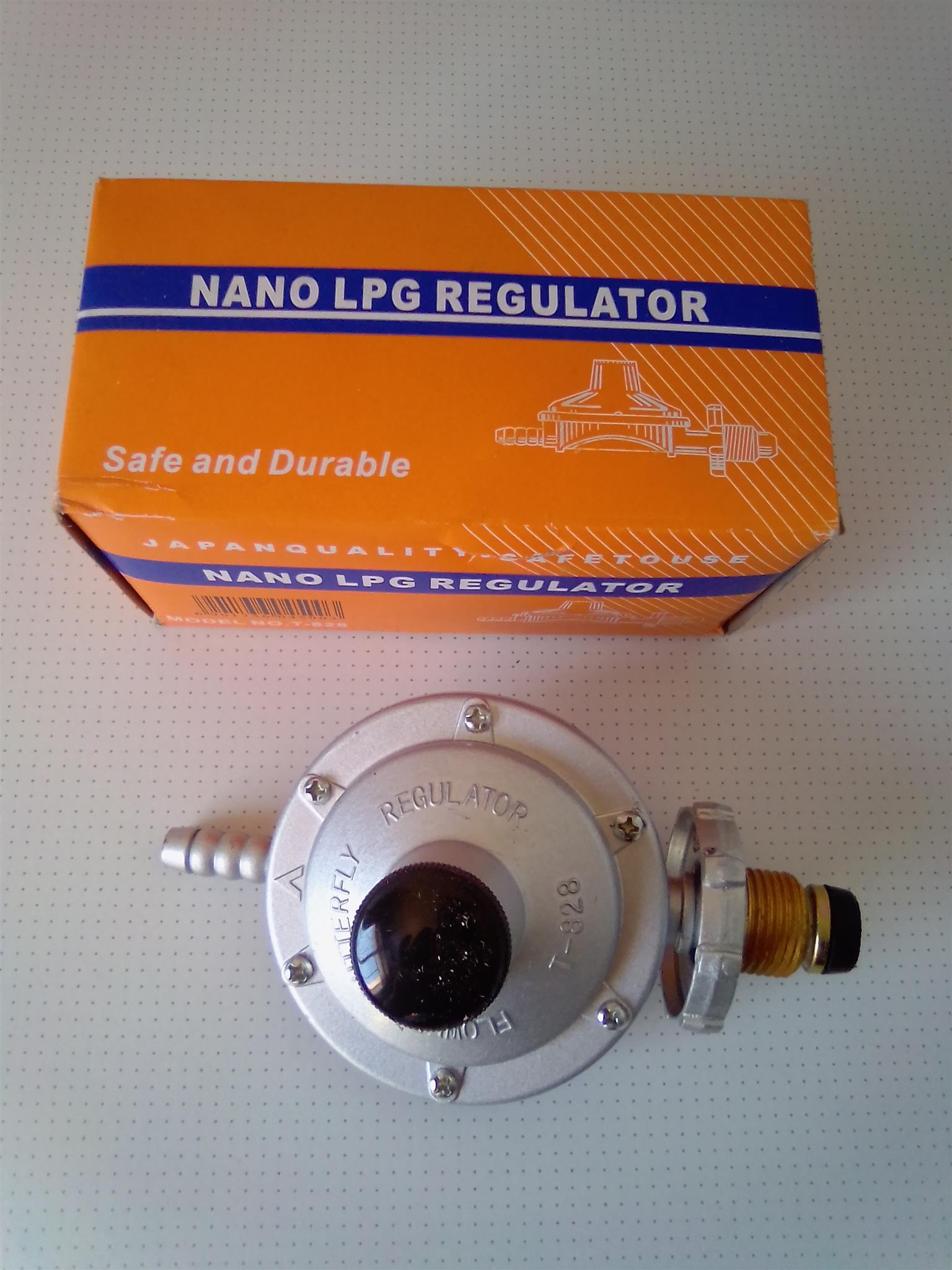 Gas Regulator Nano LPG. Made in Japan. Brand new in a Box.