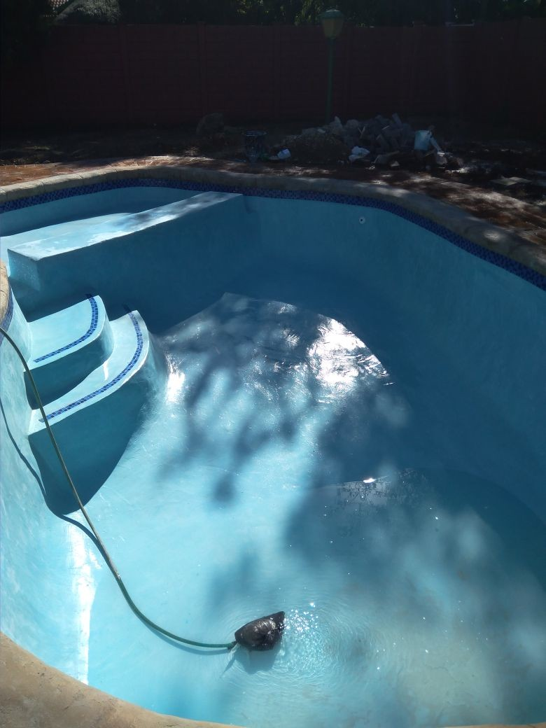 Thatch lapas and swimming pools