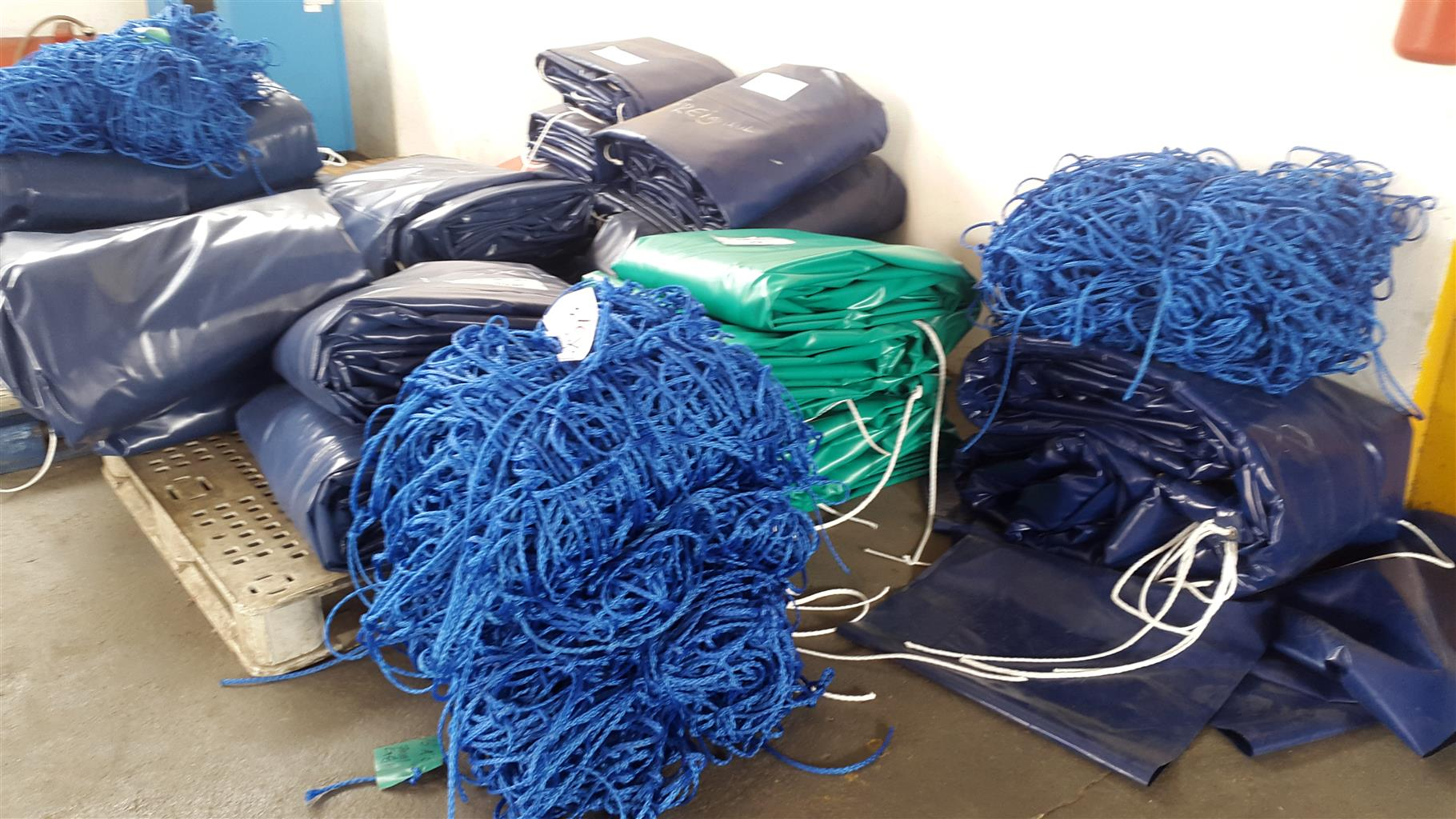 heavy duty truck covers and cargo nets for sale.