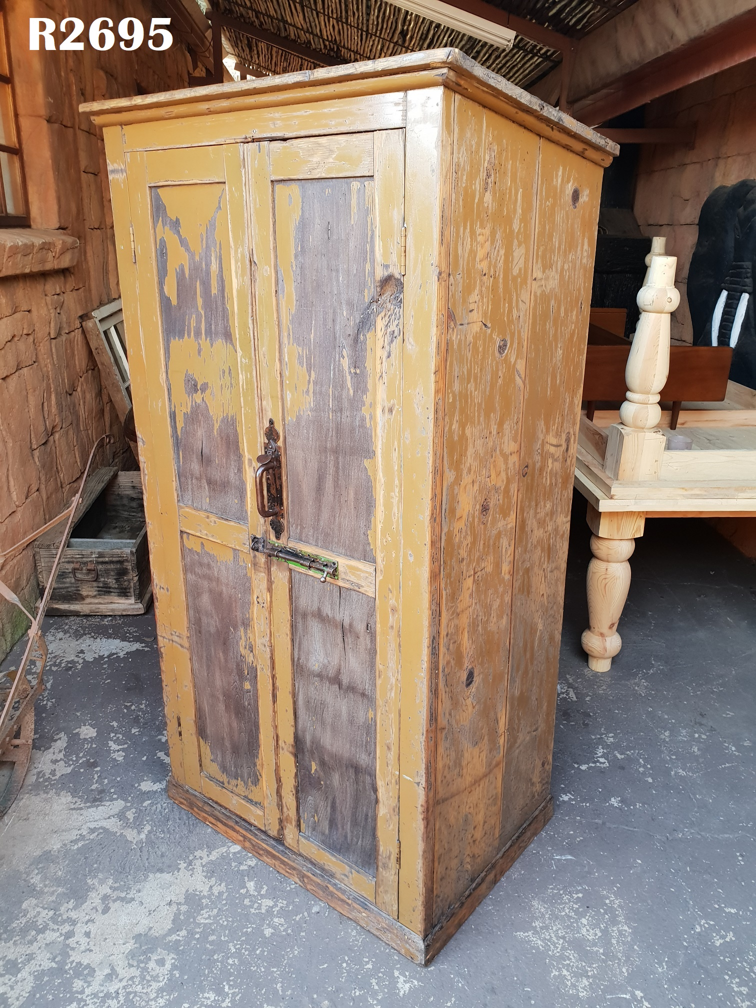 Antique Pantry Cupboard (980x660x1870) - Antique Pantry Cupboard (980x660x1870) Junk Mail