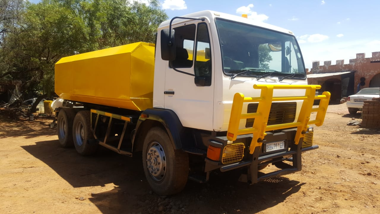 Water trucks for sale. WITH WORK. Was R800k. Now only R575 000