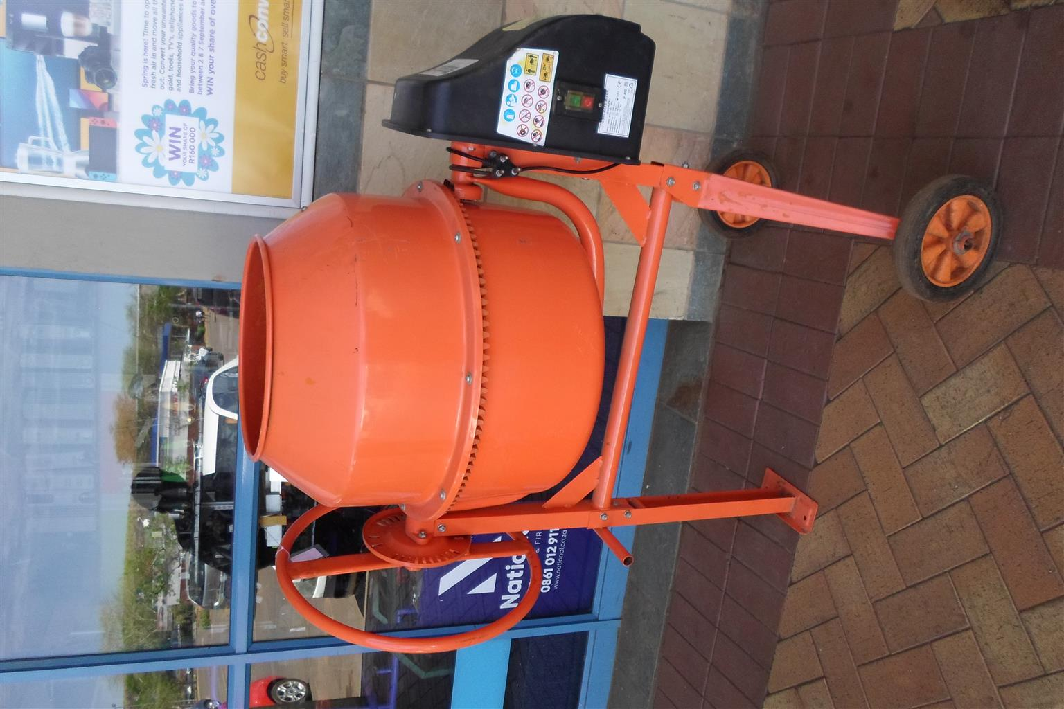 Adendorff Electric Concrete Mixer