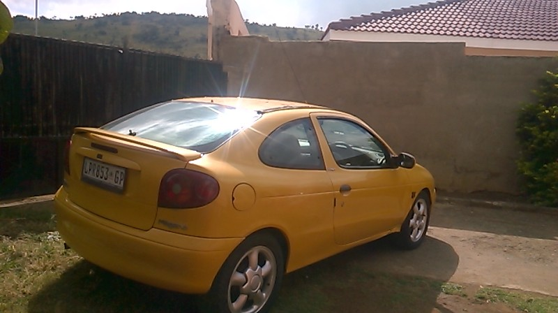 2001 Renault Megane Coupe Megane coupe 1.6 Expression