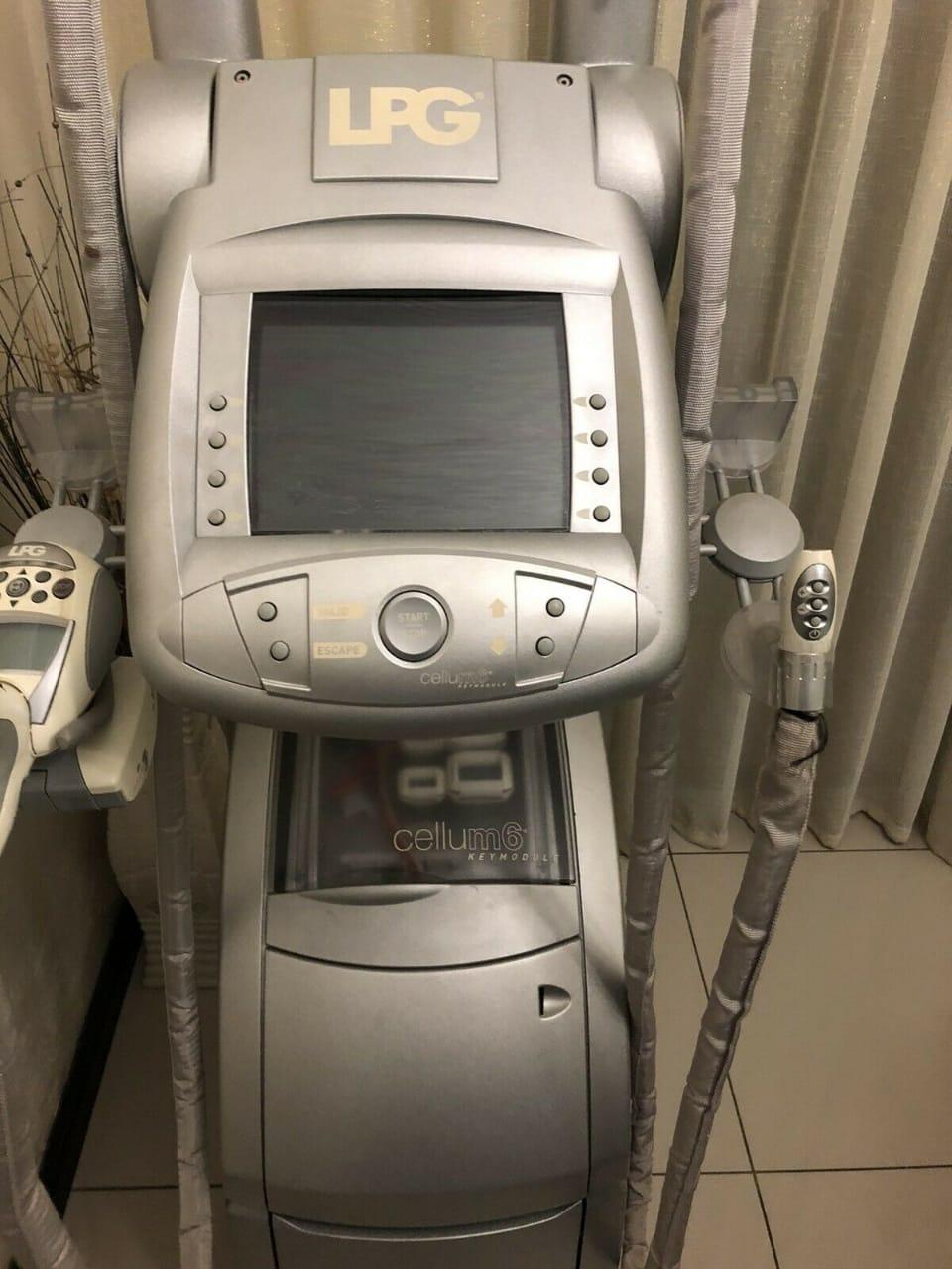 Cellum6 LPG Endermologie Machine