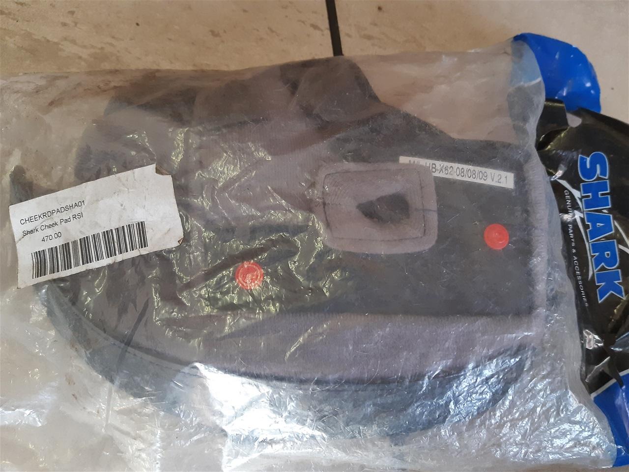AA23.31 Helmet Shark S900 inner lining