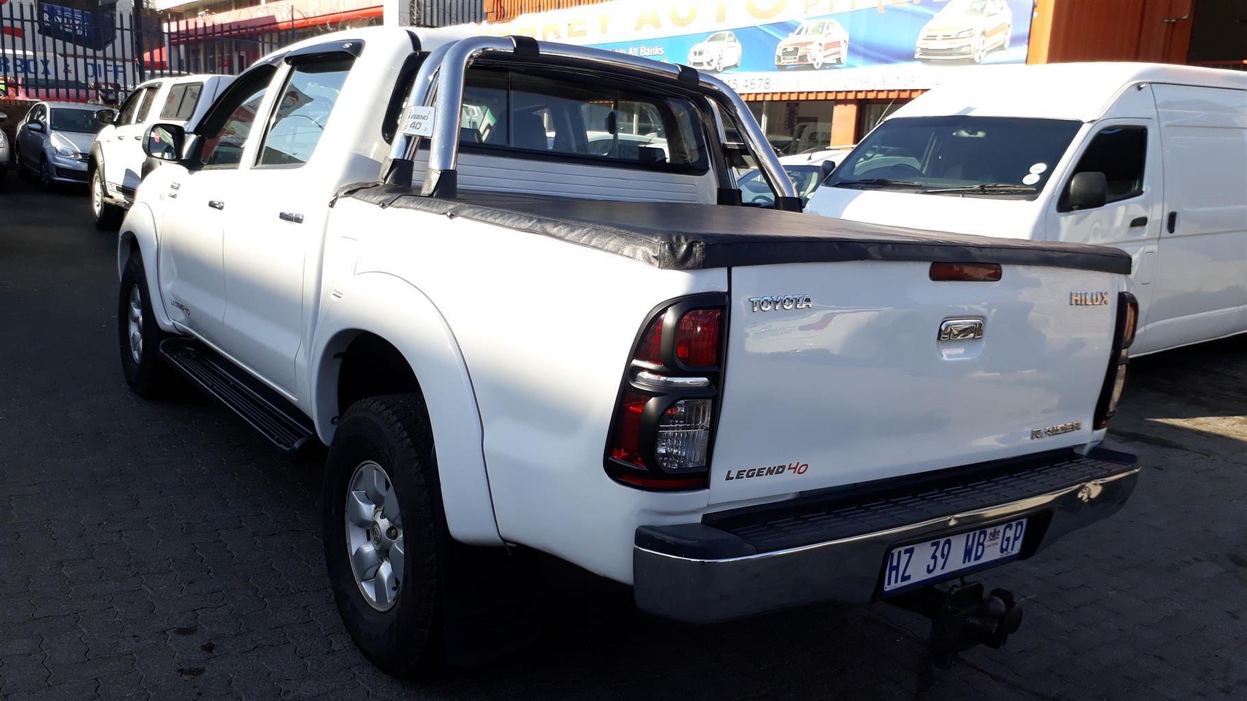 2006 Toyota Hilux 2.7 double cab Raider Legend 40